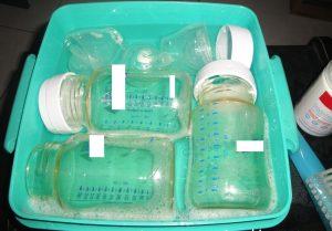 biberon mam sterilisation eau bouillante
